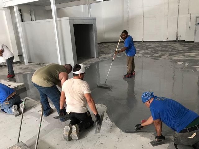 epoxy finish in Palm Beach County
