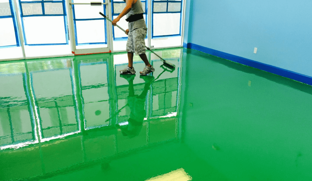 epoxy flooring west palm beach in West Palm Beach